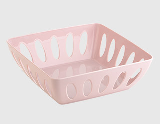 609 - Square bread basket